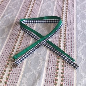 """Pair of D-Ring Ribbon Belts 38"""" long 1"""" and 1/2"""" w"""